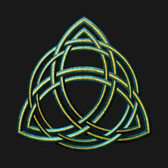 Check out this awesome 'Celtic+Triquetra+-+Green+and+Gold' design on Celtic Knots, Triquetra, Celtic Art, Paganism, Wiccan, Artsy Fartsy, Green And Gold, Graphic Art, Stencils