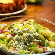 Outback Steakhouse Chopped Salad: blue cheese, candied pecans