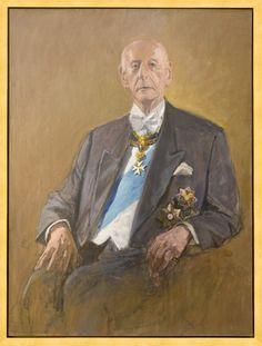 Portrait of Andrzej Ciechanowiecki, Knight Grand Cross of Honour and Devotion of the Sovereign Military Order of Malta. #OrderofMalta #SMOM