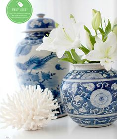 Belclaire House: Blue & White in Adore Home