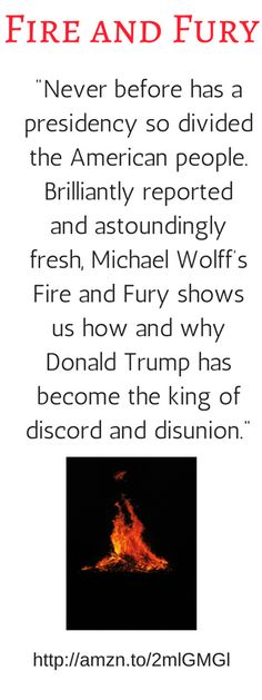 The first nine months of Donald Trump's term were stormy, outrageous—and absolutely mesmerizing. Now, thanks to his deep access to the West Wing, bestselling author Michael Wolff tells the riveting story of how Trump launched a tenure as volatile and fiery as the man himself. President Presidency White House Oval Office