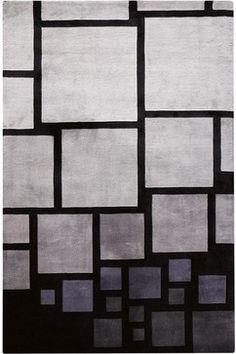 Facade Rug - modern - Rugs - Home Decorators Collection