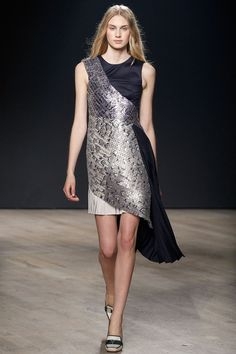 Mary Katrantzou | Fall/Winter 2014 Ready-to-Wear Collection | Modeled by Dauphine McKee | London; February 16, 2014