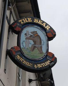 The Bear - Pub sign