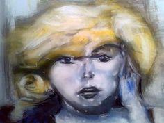 painting, Blue Marilyn (OBRA ORIGINAL)