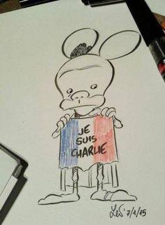 Tribute to Charlie Hebdo By Leo Ortolani Cartoonists Worldwide Respond To Charlie Hebdo Shooting - Business Insider
