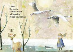 Sacredbee Greeting Cards by PamelaZagarenski Christmas Quotes, Christmas Love, Christmas Greetings, Christmas And New Year, All Things Christmas, Vintage Christmas, Christmas Holidays, Christmas Crafts, Merry Christmas