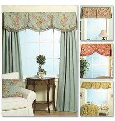 This is what I want for my kitchen. Just the valance. In a different fabric of course.
