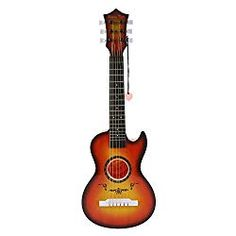 Liberty Imports Happy Tune 6 String Acoustic Guitar Kids Toy - Vibrant Sounds and Realistic Strings - Beginner Practice Musical Instrument (Amber Sunburst) Kids Acoustic Guitar, Guitar Tuners, Cool Electric Guitars, Steel Guitar, Learn To Play Guitar, Guitar Tips, Cover Songs, Guitar Strings, Original Song