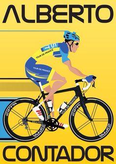 Alberto #Contador  #bicicletta #sport #ciclismo #TDF2015 #TourDeFrance