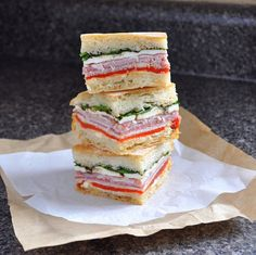 BREANNA'S RECIPE BOX: Overnight Italian Sandwiches