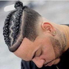 Cornrow Braids Men Collection 37 braid hairstyles for men 2020 styles Cornrow Braids Men. Here is Cornrow Braids Men Collection for you. Cornrow Braids Men 37 braid hairstyles for men 2020 styles. Cornrow Braids Men how . New Braided Hairstyles, Braids Hairstyles Pictures, Mens Braids Hairstyles, Black Men Hairstyles, Trendy Hairstyles, Men's Hairstyles, Winter Hairstyles, Cornrow Braids Men, Braided Dreadlocks