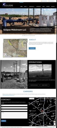 Here are some of our latest web design clients shown as full page screen shots.