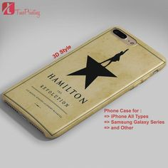 Hamilton The Revolution Book Cover - Personalized iPhone 7 Case, iPhone 6/6S Plus, 5 5S SE, 7S Plus, Samsung Galaxy S5 S6 S7 S8 Case, and Other