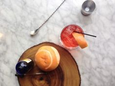 """FEATURED RECIPE: POR DO SOL NEGRONI - This Negroni-inspired recipe's name means """"sunset"""" in Portuguese."""