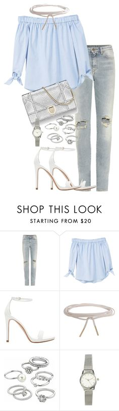 """Untitled #2544"" by theeuropeancloset on Polyvore featuring Yves Saint Laurent, MANGO, Zara, Humble Chic, Candie's and H&M"