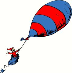 Oh The Places You Ll Go Balloon Ilration