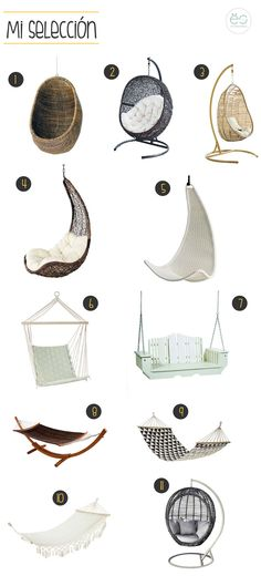 Cute Bedroom Ideas, Cute Room Decor, Small Balcony Decor, Hanging Beds, Hammock Swing, Swinging Chair, Modern House Design, My Room, Chair Design