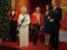 the queen at madame tussauds London