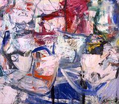 "Willem de Kooning American, b. Holland, 1904–1997 Oil on canvas 68 3/4 x 79 "" St Louis, Kemper Art Museum"