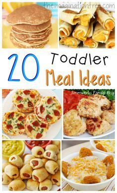 20 tasty and fun toddler meal ideas!