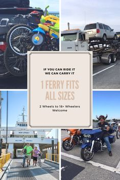 If you can drive it on, we can carry it over the Delaware Bay on the Cape May-Lewes Ferry
