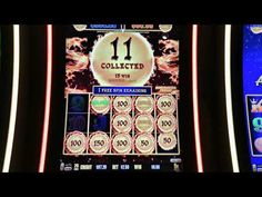 $600 Major Progressive Jackpot on Dragon Links Slot Machine, Dragon, Big, Dragons, Arcade Machine