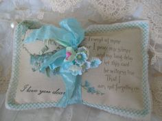 Forget Me Not Dear Friend - LAVENDER SACHET for Dearest Friend  by TheJoyfulHome, $7.00