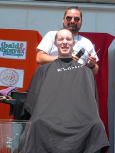 Not everyone braved the shave, but some did!