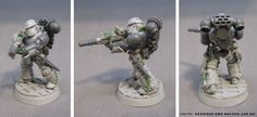 Between the Bolter and Me: The Ghost Legion: Building Alpha Legion Headhunters