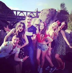 Photos & Videos: Kelli Berglund, Peyton List, Spencer Boldman & Laura Marano Having Fun At Walt Disney World Resort May 23, 2014