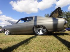 Bagged chevelle on 24s