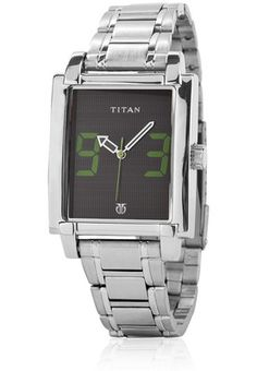 Tagged 1593Sm02 Silver/Black Analog Watch