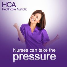 Nurses can take the pressure!