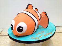 Nemo Cake-Smash Cake for Logan