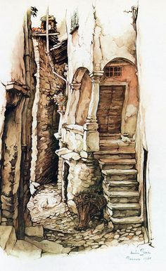 Anton Pieck - For me,Inspiration for a set design.