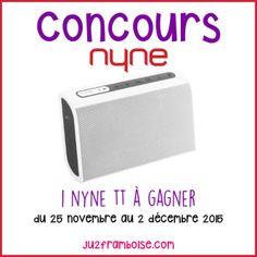 J'ai testé l'enceinte portable Nyne TT (+ concours) Bluetooth, Parfait, Html, I Win, Pageants, Raspberry, Business, Gifts, Projects
