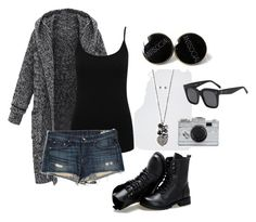 """""""I made this in 2 mins don't judge"""" by rocker-chick-88 ❤ liked on Polyvore featuring M&Co, rag & bone/JEAN, Sunsteps, Kate Spade, CÉLINE, women's clothing, women, female, woman and misses"""