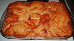 The cooking term for cobbler is a deep dish fruit pie made with a rich biscuit dough instead of a pie pastry. This peach cobbler is certainly a rich biscuit dough and is full of delicious peaches.