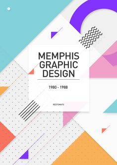 Memphis Graphic Design Inspiration