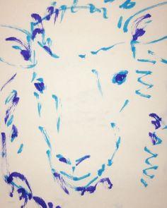 いいね!5件、コメント1件 ― @1mindrawのInstagramアカウント: 「#1mindraw #dolly #ドリー #clonedsheep #クローン羊 #19960705 #birthday #誕生日 #portrait #筆ペン画」