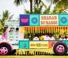 A truck bar makes weddings so much more Instagrammable. | 20 Easy Ways To Make Your Indian Wedding Goddamn Adorable