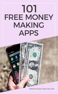 Read on for a list of 101 money making apps. This is a great way to make money and work from home. Money making apps can also be used to help you save money and budget better.