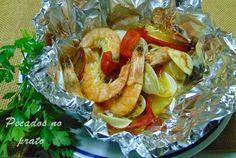 Pecados no prato: Papelotes de pescada
