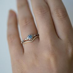 Wisteria Ring - Engagement Rings - Catbird