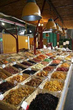 Downtown market, Florence, Italy