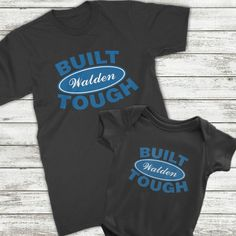 c6bee4495 Built Tough Family Shirt Collection. First Fathers Day GiftsNew  FathersFather Son Matching OutfitsPresents ...