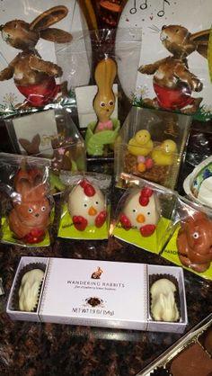 Easter candy from sprungli Zurich Switzerland.
