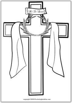 cruz catolica para colorir - Pesquisa Google