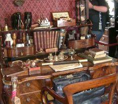 Dr. Watson's desk at the Sherlock  Holmes Museum, London